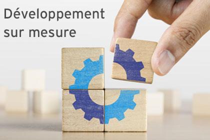 Développement sur mesure
